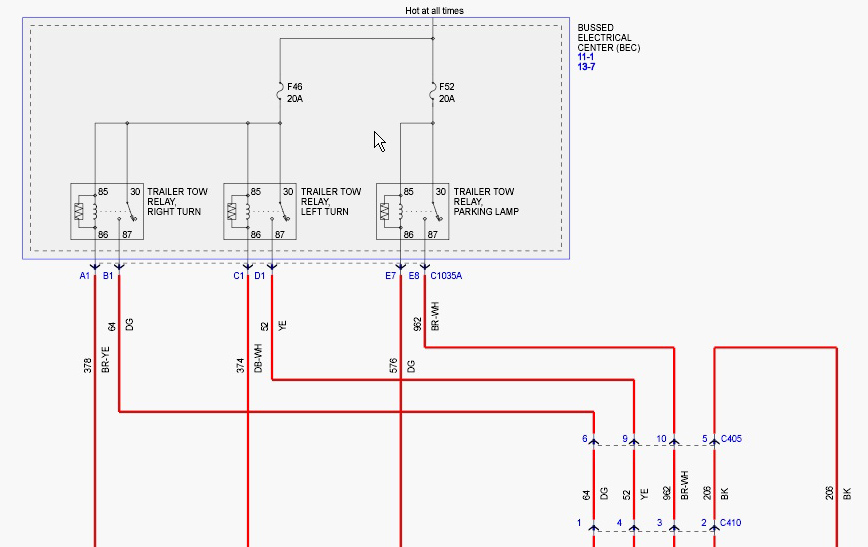 freestar_trailer_wiring_schematic davintosh trailer wiring on the 2005 ford freestar palomino pop up camper wiring diagram at webbmarketing.co