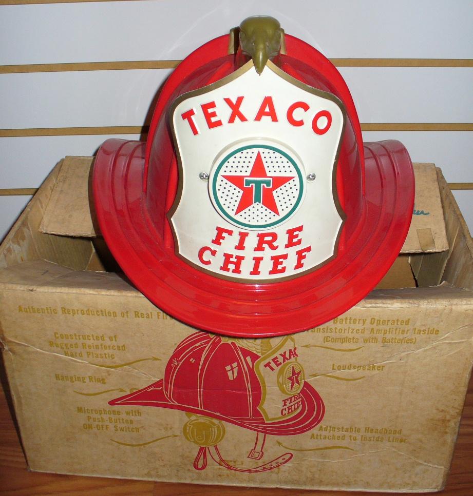 the texaco fire chief helmet davintosh