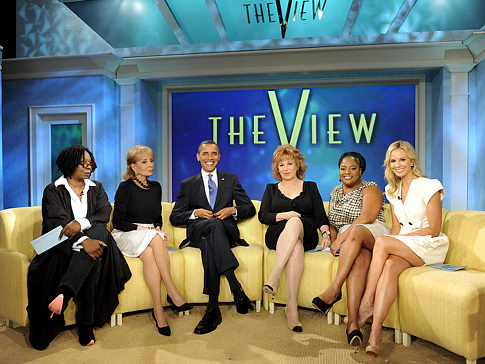 Barry on The View